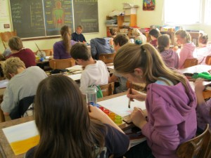 Main school: In the classroom