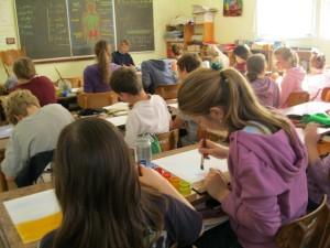 Main school: In the classroom